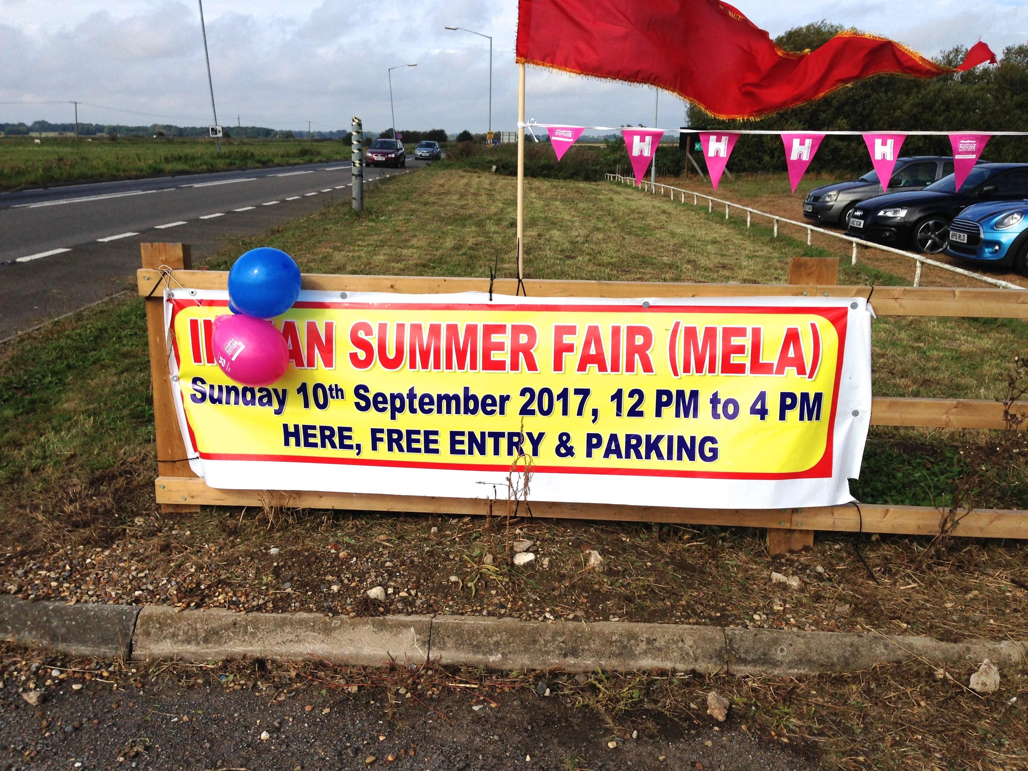 Indian Summer Fair September 2017 – A successful event